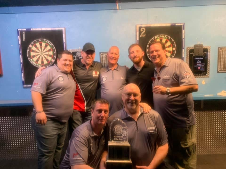 <b>City Cup Winners -</b><br><b> Comfort Zone:</b><br> Josh Shuler, Danny Pace, Bob Meininger, Jacob Womack, Steve Barlock<br>Charlie Meininger, Dan Moore